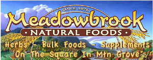 Advertisement: Meadow Brook Natural Foods