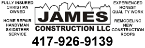 Ad: James Construction