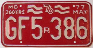 1976-missouri-bicentennial-license-plate-gf5386
