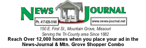 Ad: Mountain Grove News-Journal
